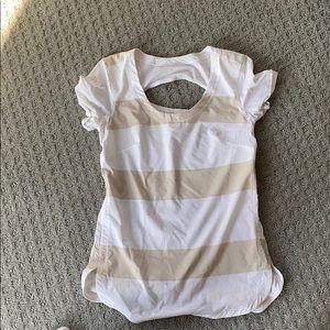 lulu lemon short sleeve shirt